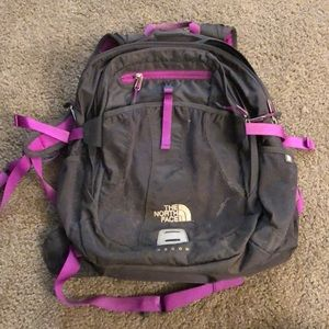 North face backpack-great condition!